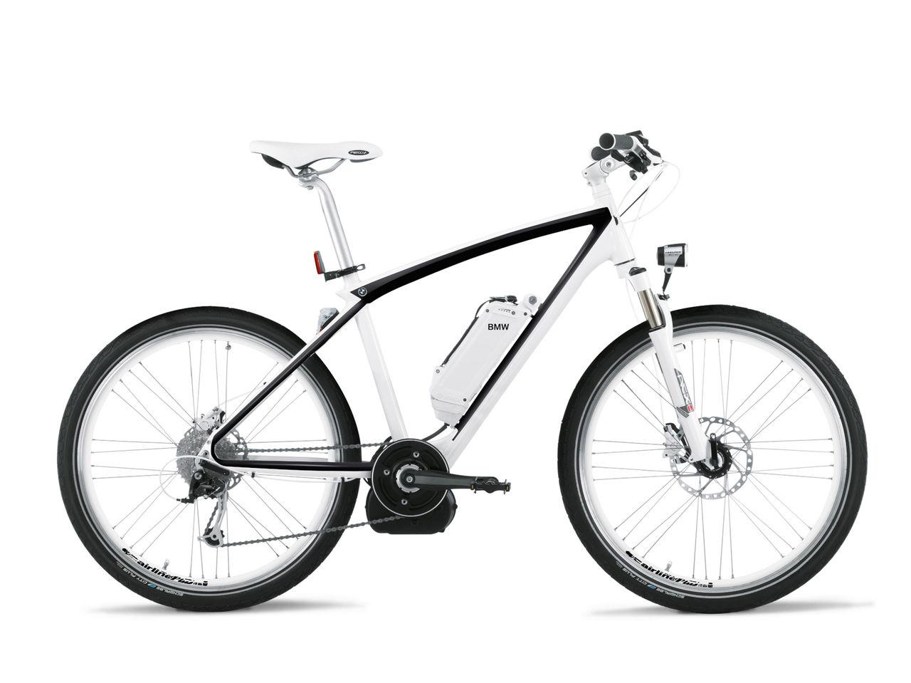 BMW uppdaterar sin elcykel