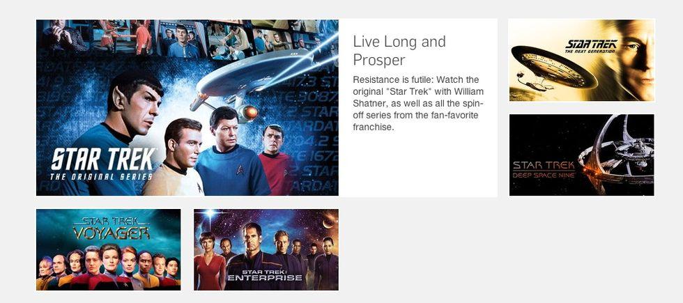 Titta på Star Trek