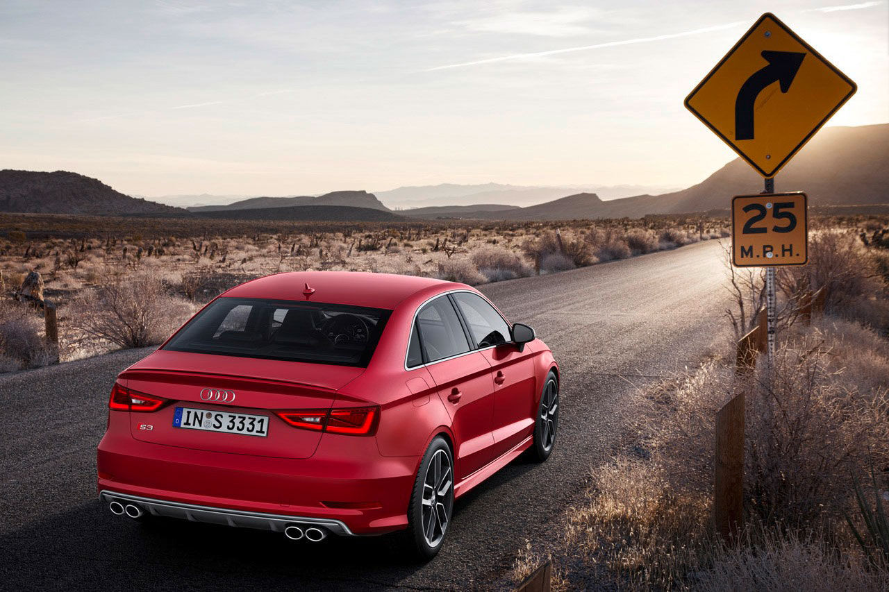 Audi visar upp A3 Sedan