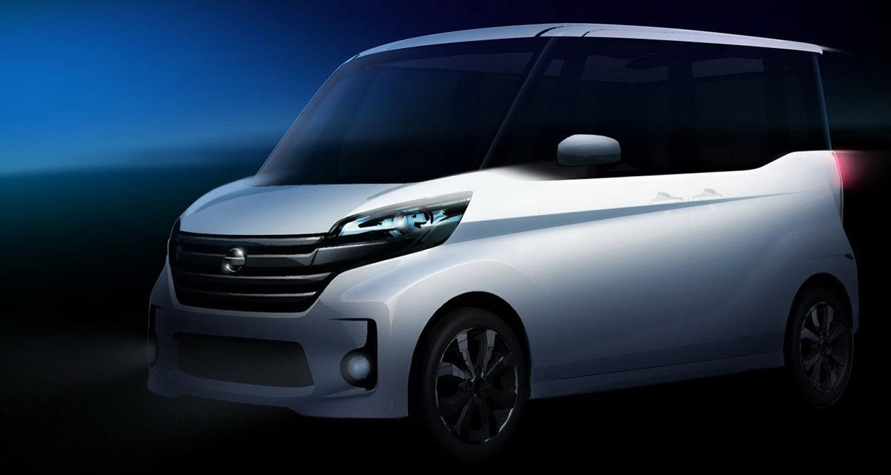 Nissan visar koncept med högt till tak