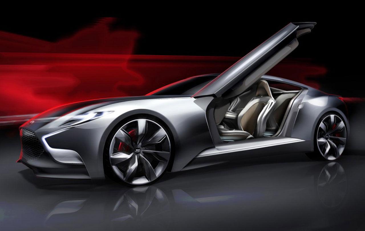 HND-9 Concept - en försmak på nästa Genesis Coupé