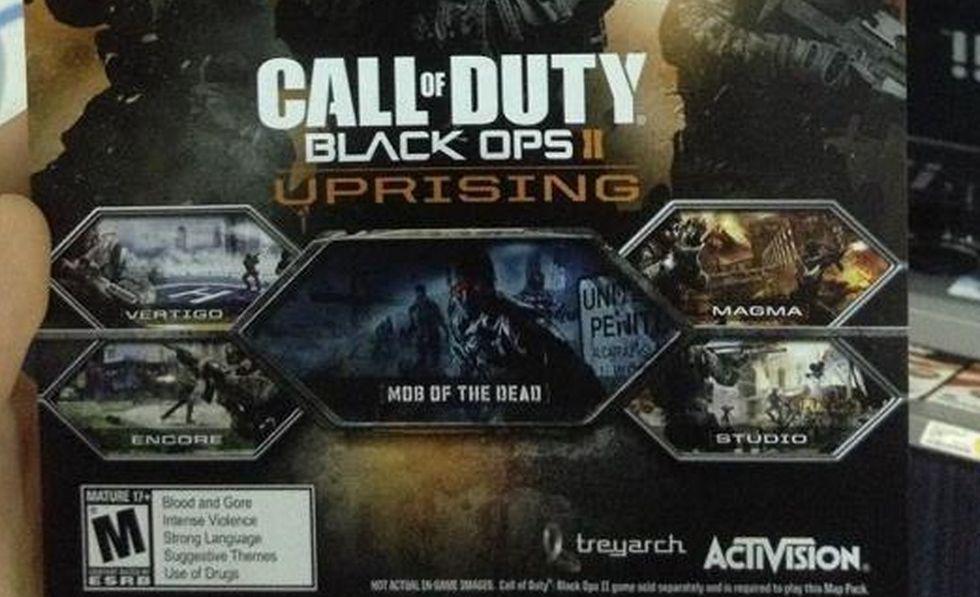 Promo-grej avslöjar kommande Black Ops II-DLC