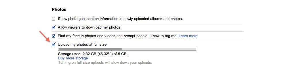 Google+ får stöd för bilders originalupplösning