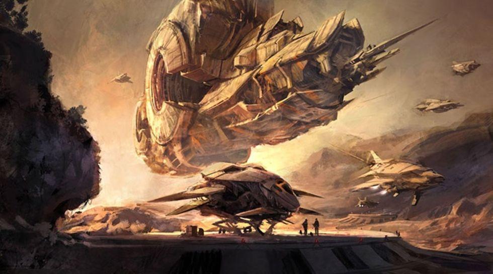 Titan utspelar sig på jorden