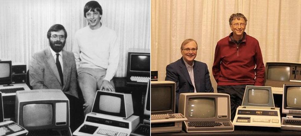 Microsoft-grundare poserar ihop igen
