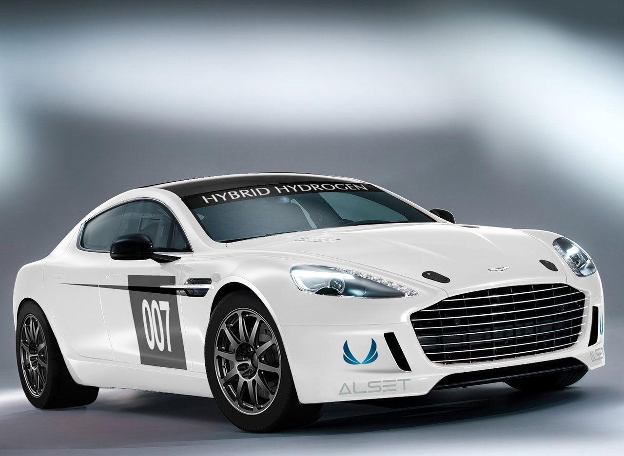 Aston Martins vätgasdrivna Rapide