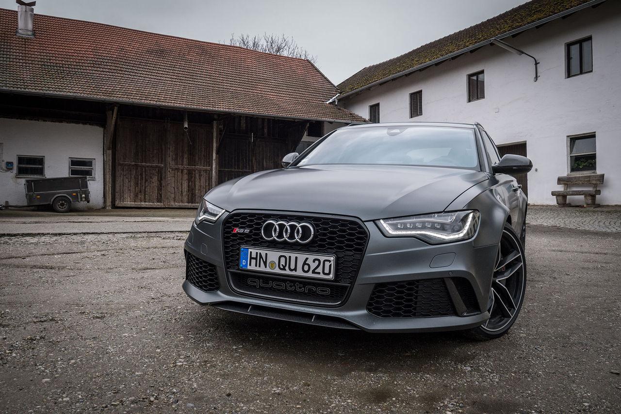 Nya Audi RS6 går som en skållad R8