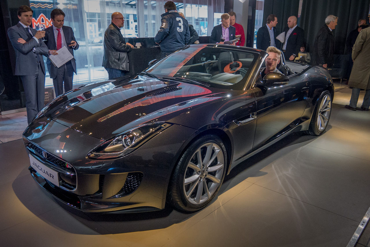 Vi har spanat in Jaguar F-Type