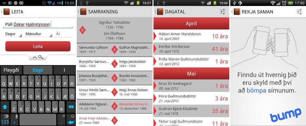 garn dating app Android