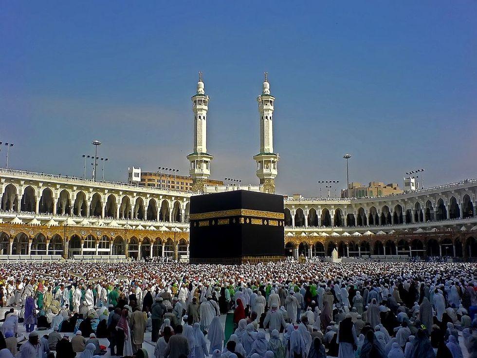 Var inte för snygg som turist i Saudiarabien