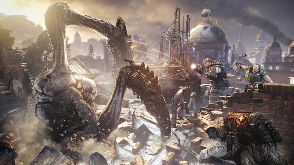 Nytt DLC till Gears of War: Judgement i april
