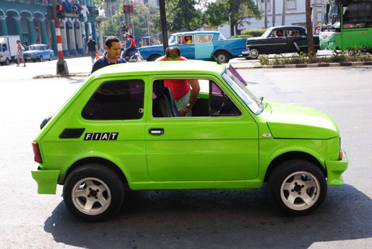 Carspotting från Havana Kuba