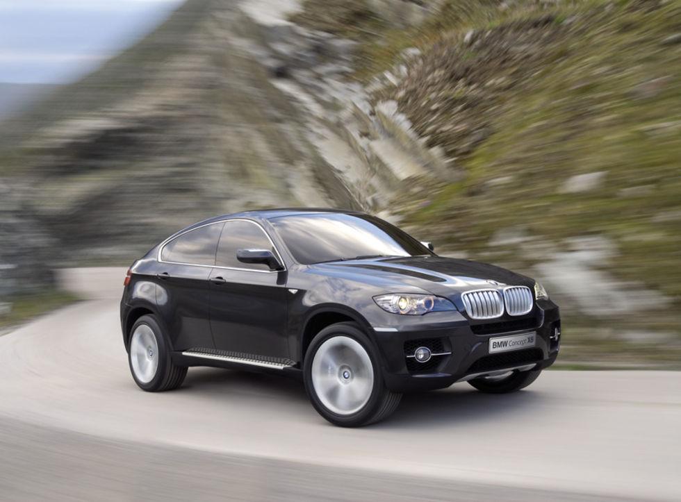 Nu är den här: BMW X6 Sports Activity Coupe Concept