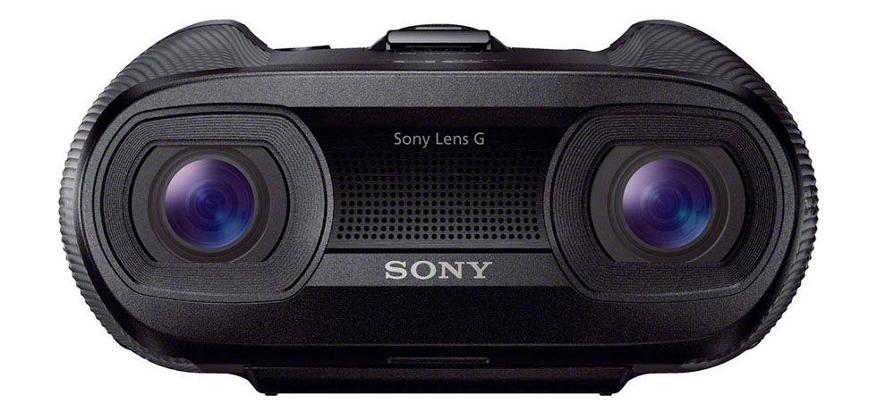 Sony släpper kikare med inbyggd 3D-kamera