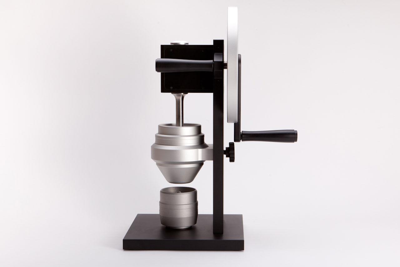 Stilren handvevad kaffekvarn
