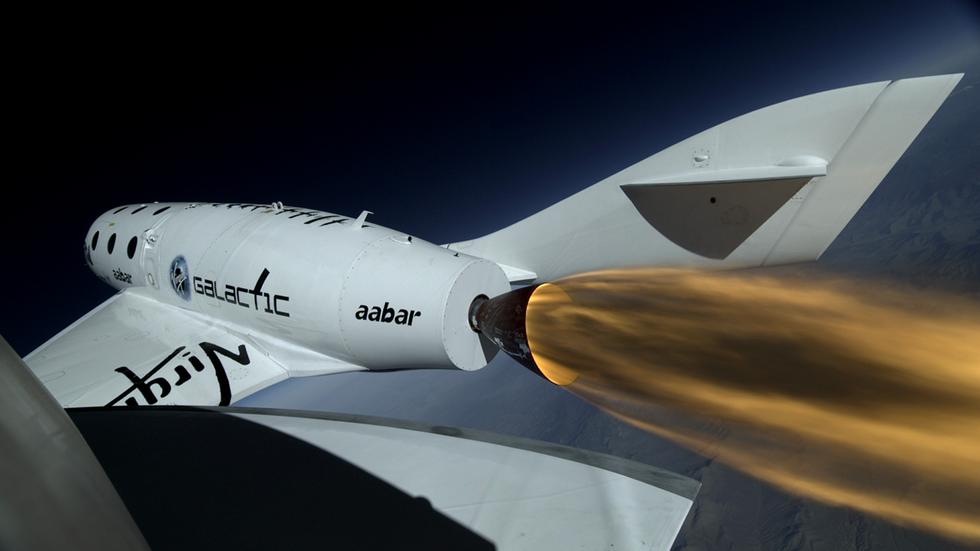 Virgin Galactic genomför lyckad testflygning