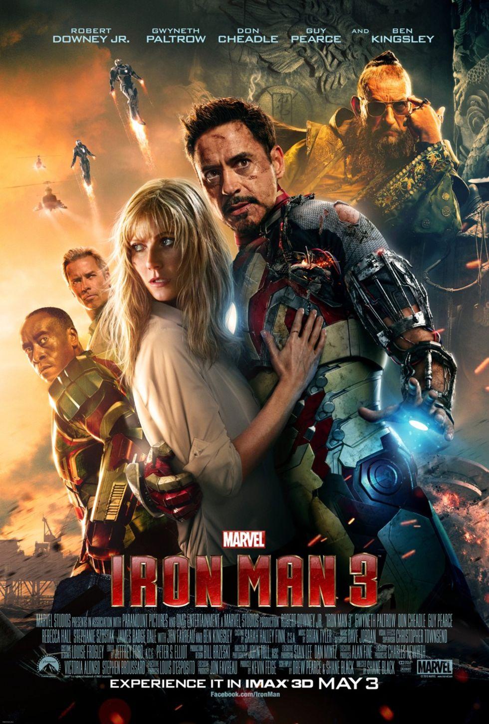 Iron Man 3 gör biosuccé