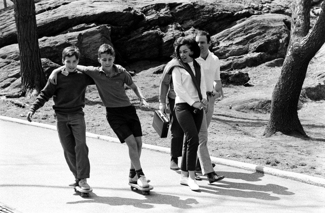 Sköna skate-bilder från 1965