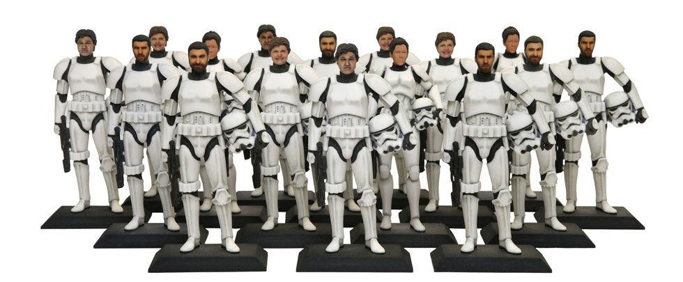 Få ditt huvud på en Stormtrooper