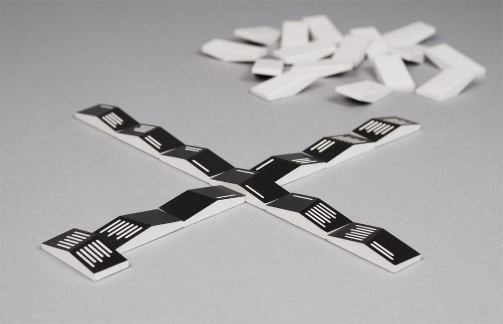Domino på ett nytt sätt