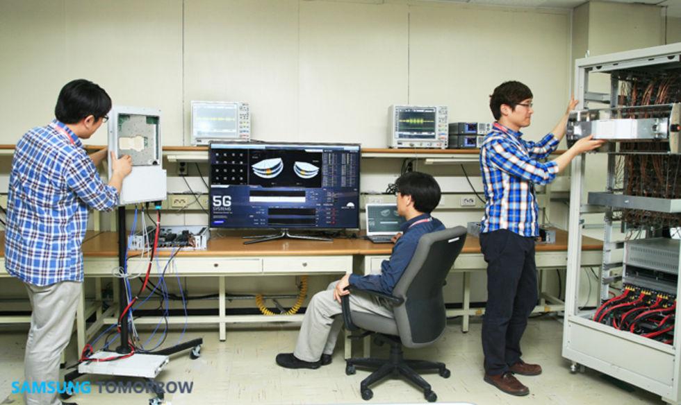 Samsung testar 5G