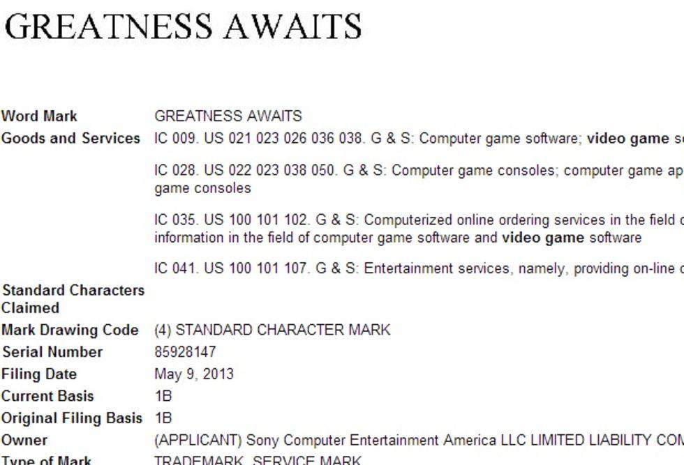 Sony slogan för PlayStation 4 är...