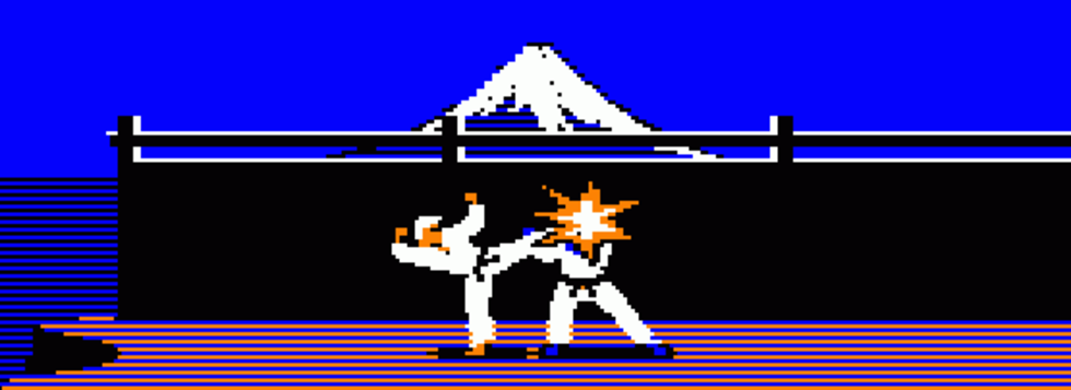 I natt släpps Karateka till mobilen