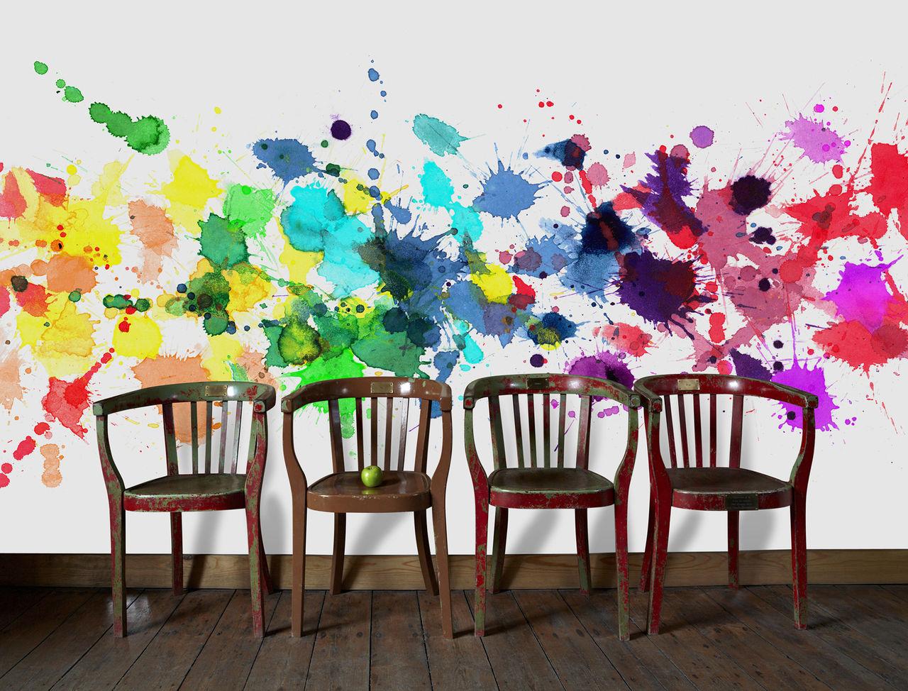 Sätt färg på väggen