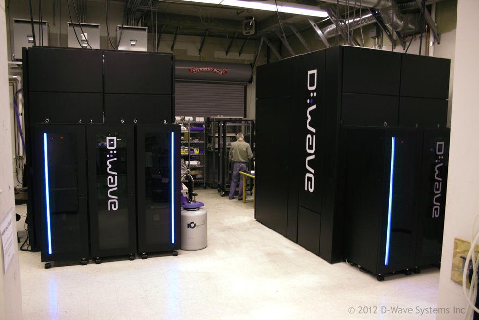 Google och NASA köper kvantdatorn D-Wave Two ihop