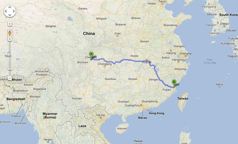 Kidnappad kines hittar hem med hjälp av Google Maps