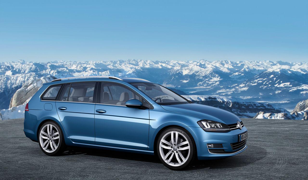 Nu kan du beställa nya Volkswagen Golf Kombi