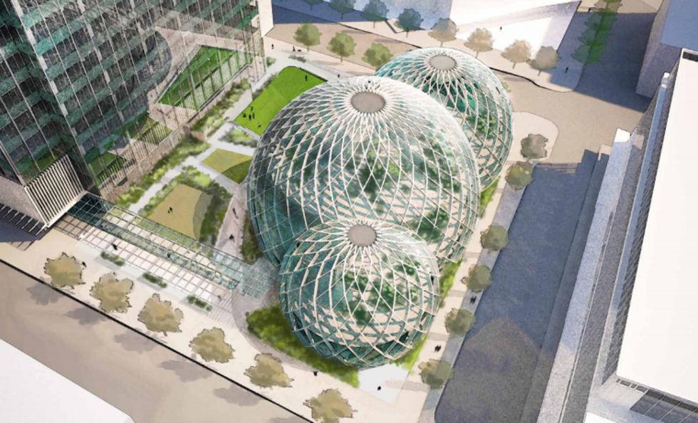 Amazon vill bygga en Bio-Dome