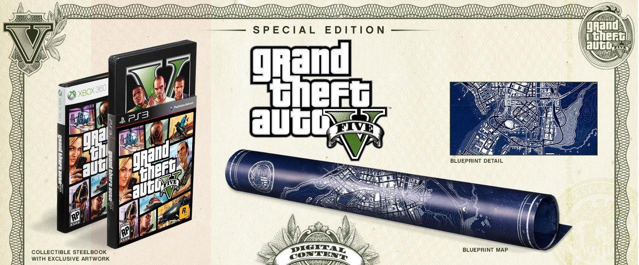 Två specialutgåvor för Grand Theft Auto V