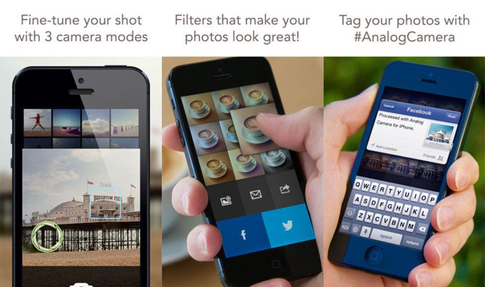 Analog Camera for iPhone - ny snygg kamera-app för iOS