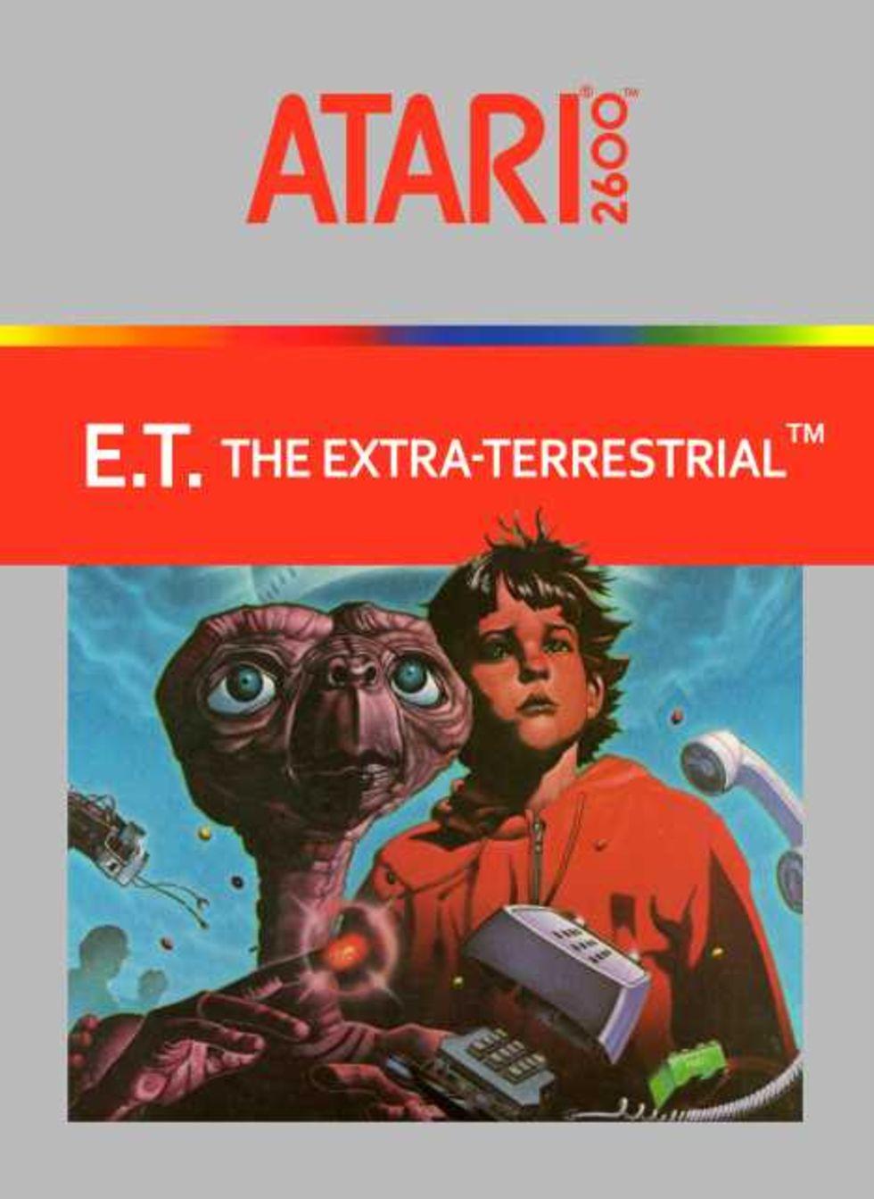 Nu ska de nergrävda E.T-spelen grävas upp