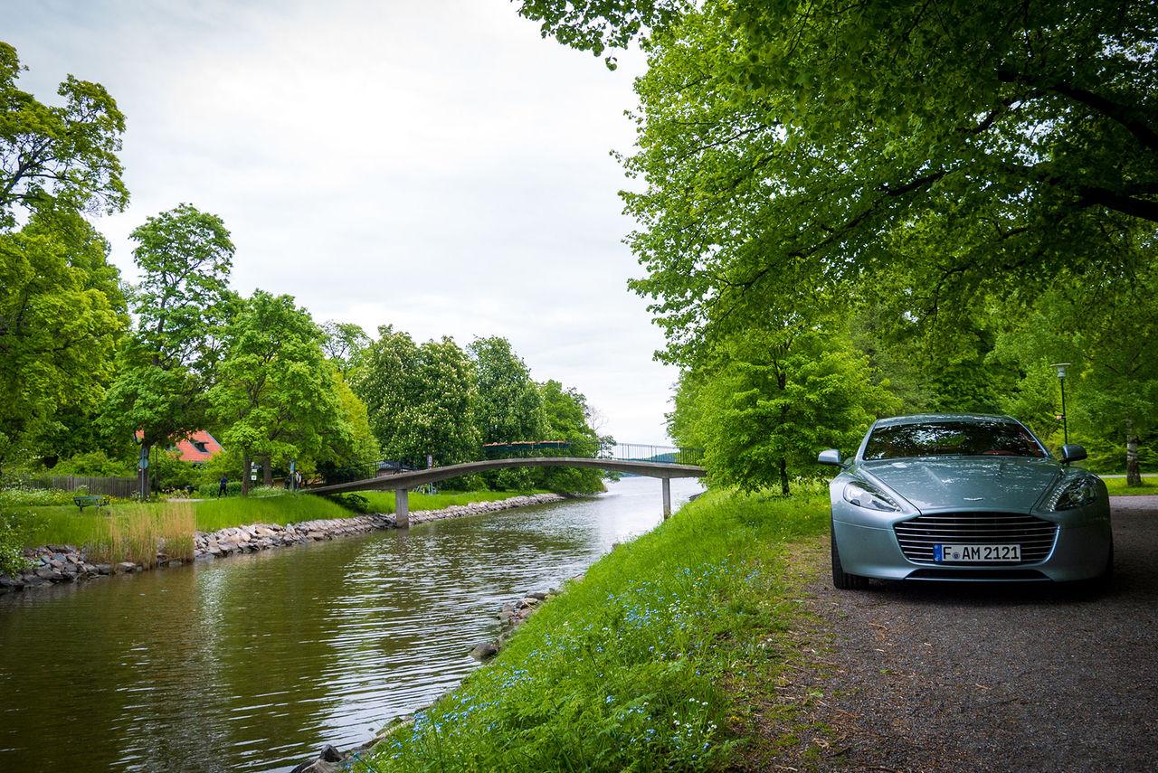 Några timmar med Aston Martin Rapide S