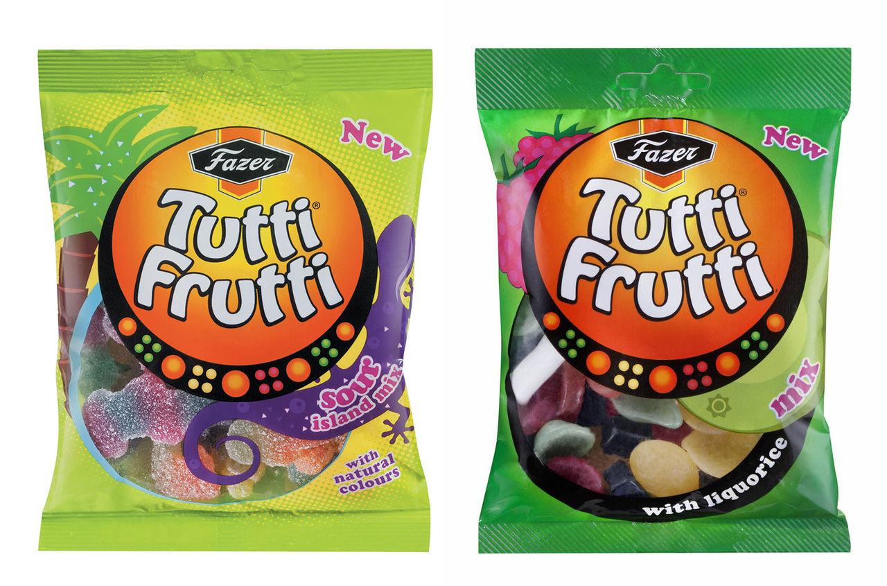 Två nya Tutti Frutti-påsar