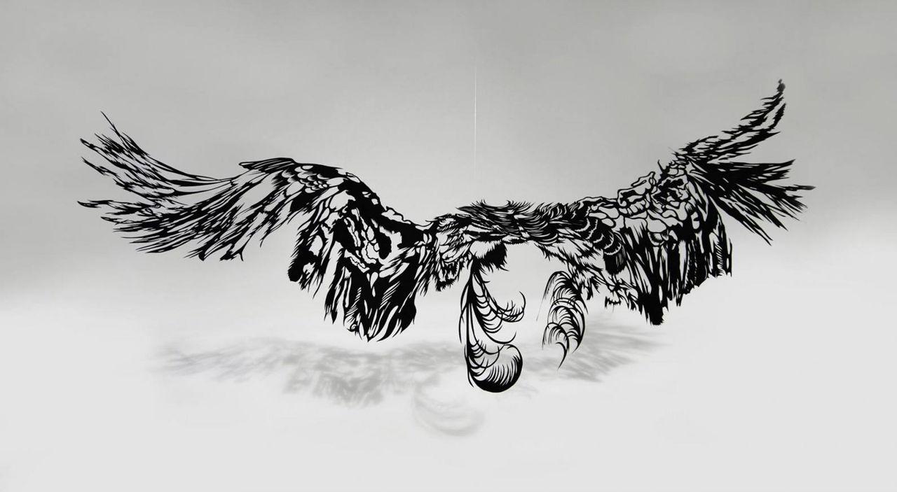 Konstverk ur ett stycke papper