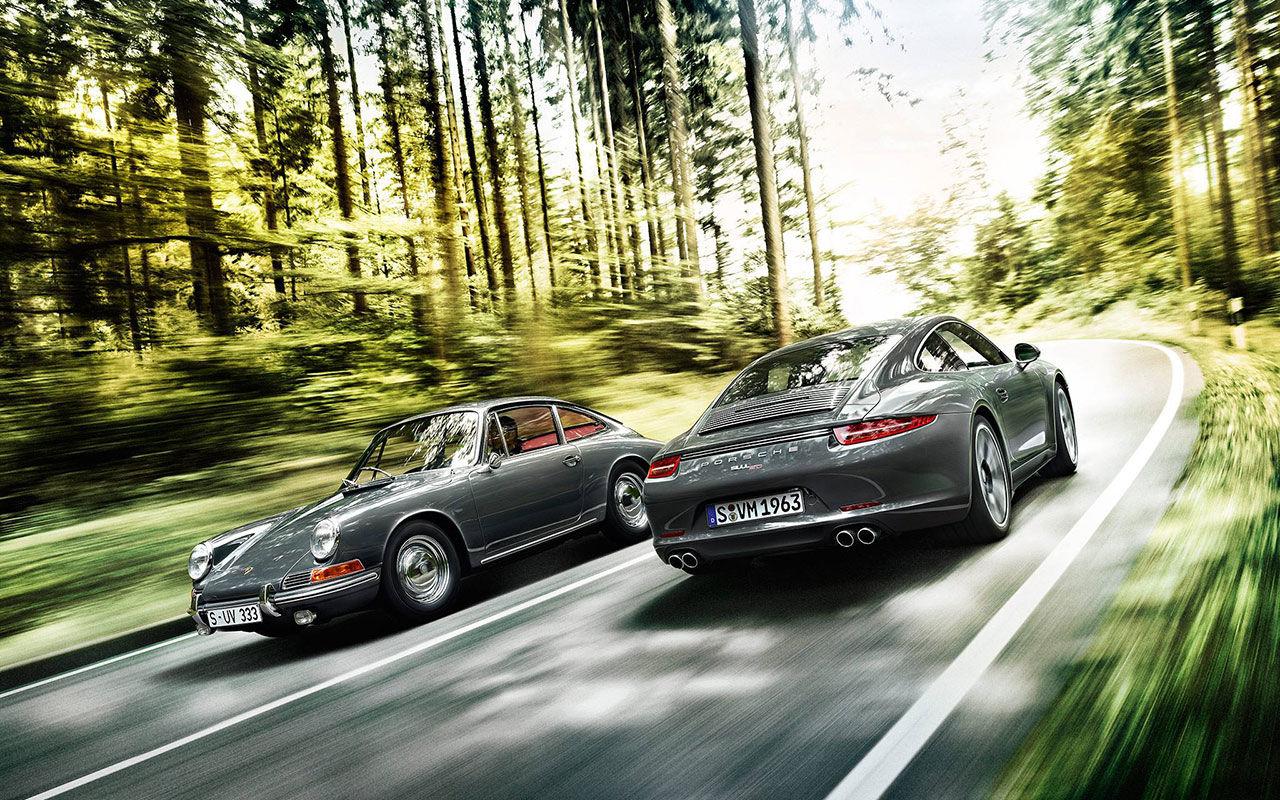 porsche 50 år Porsche firar 50 med jubileumsmodell. 50 år sedan 911 visades upp  porsche 50 år