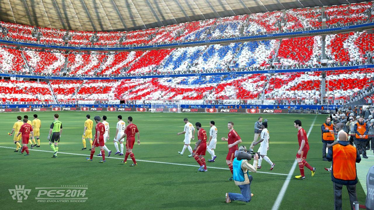 Några bilder från Pro Evolution Soccer 2014