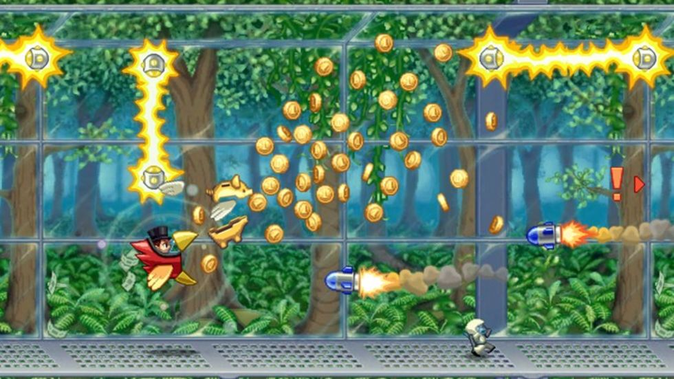 Jetpack Joyride för Windows Phone