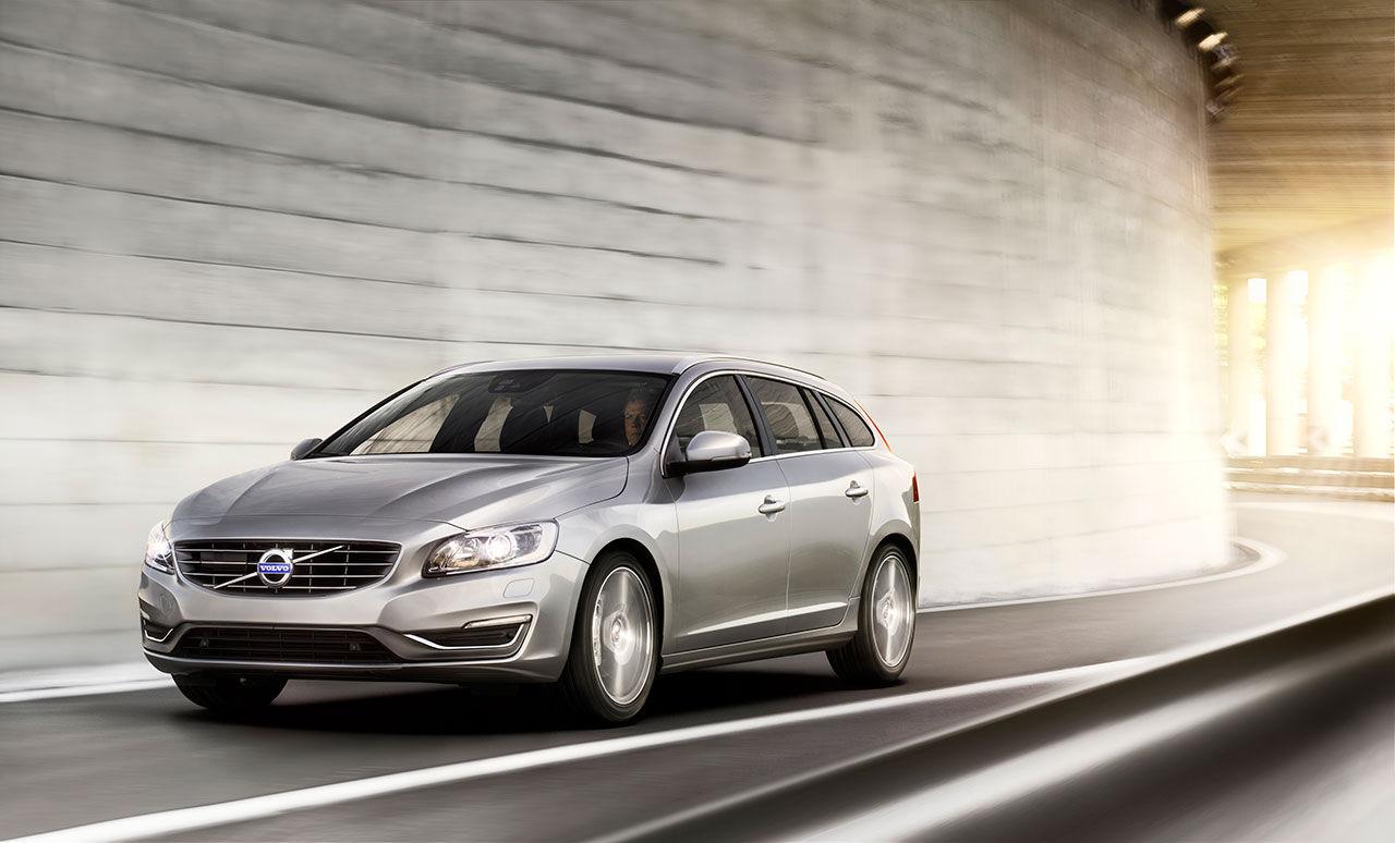 Volvo V60 Bi-Fuel - gas och bensin i harmoni