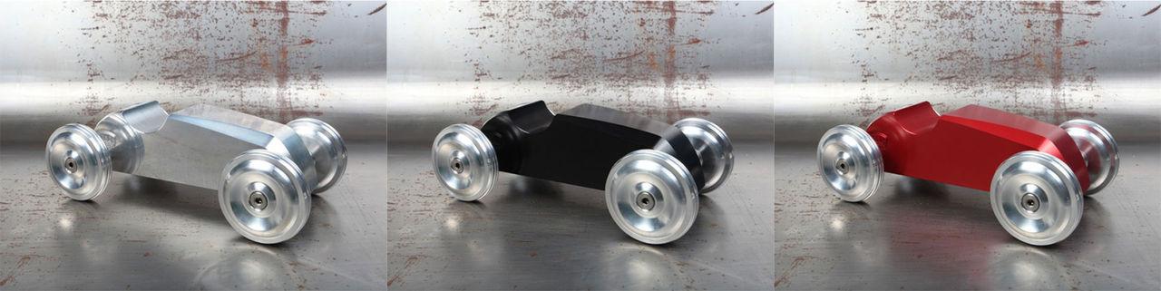 Leksaksbil i aluminium för de äldre barnen