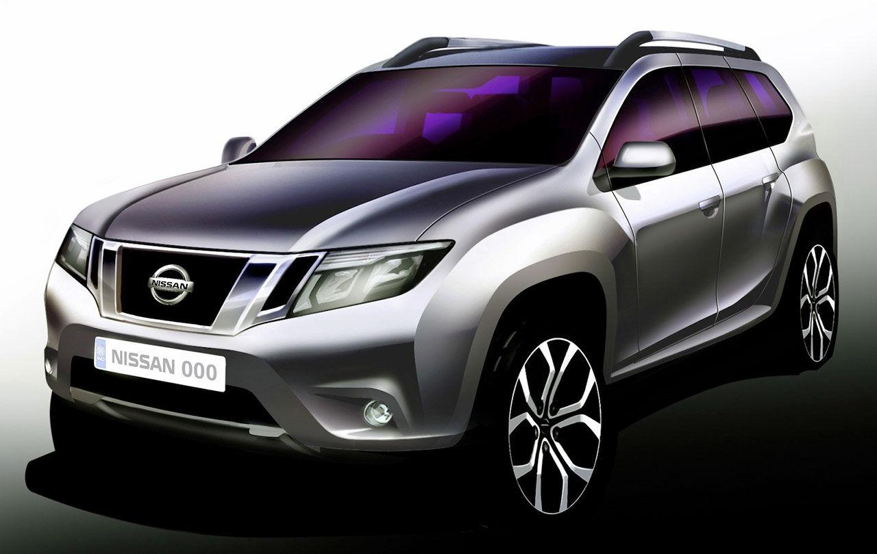 Dacia Duster sminkas om till Nissan Terrano