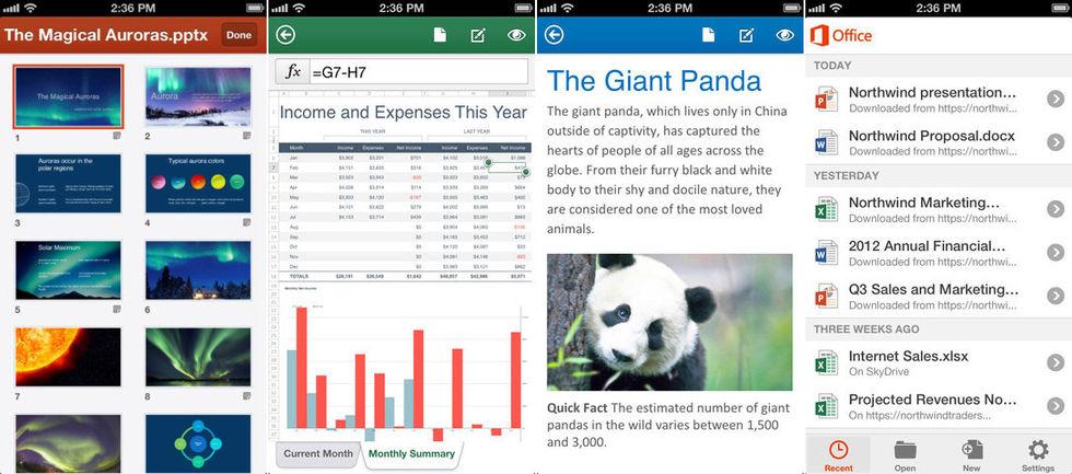 Office 365 släppt till iPhone