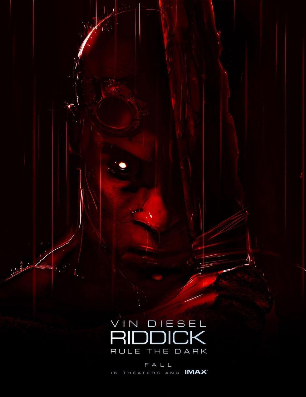 Vin Diesel bjuder på en ny Riddickposter