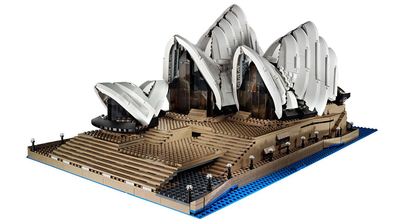 Operahuset i Sydney nu även i Lego