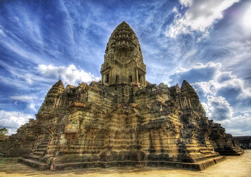 1 200 år gammal stad upptäckt i Kambodja