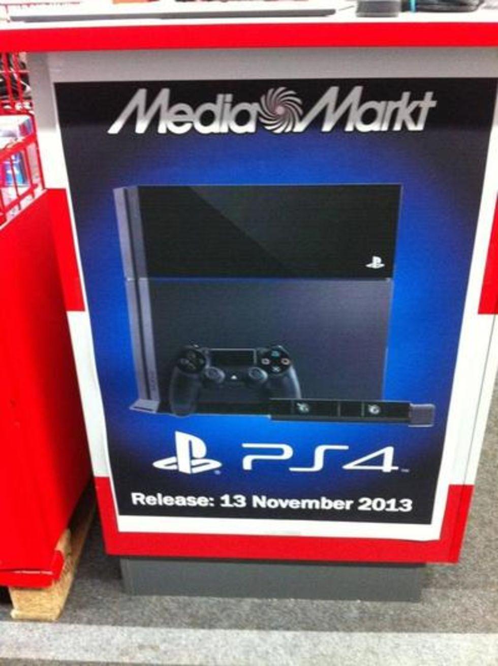 Släpps PlayStation 4 den 13:e november?