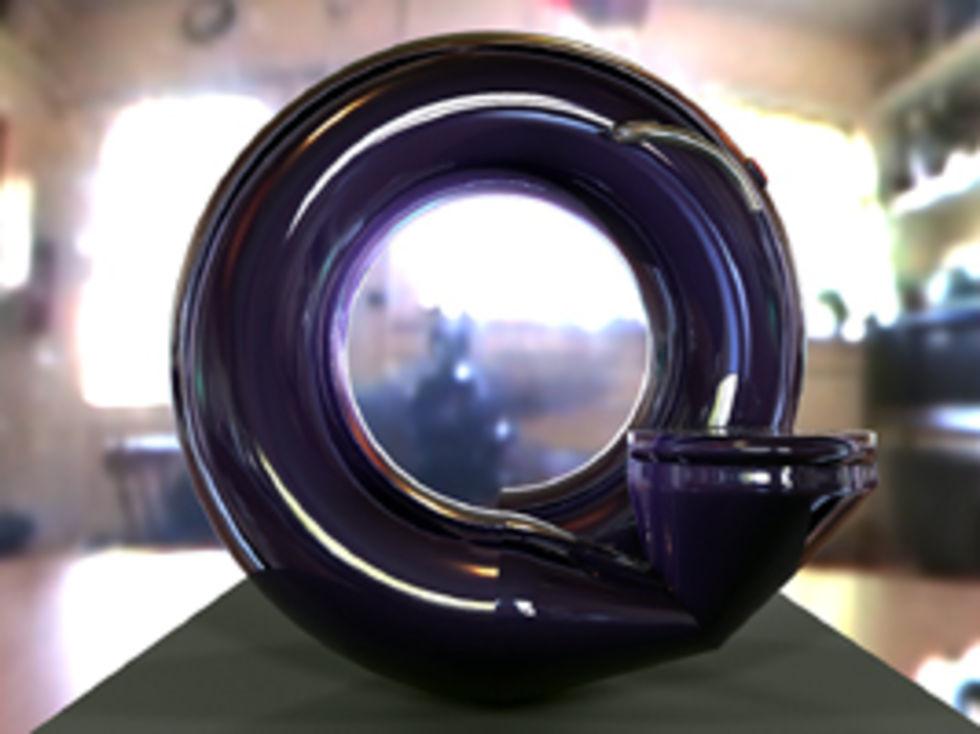 Futuristisk och galen espressomaskin